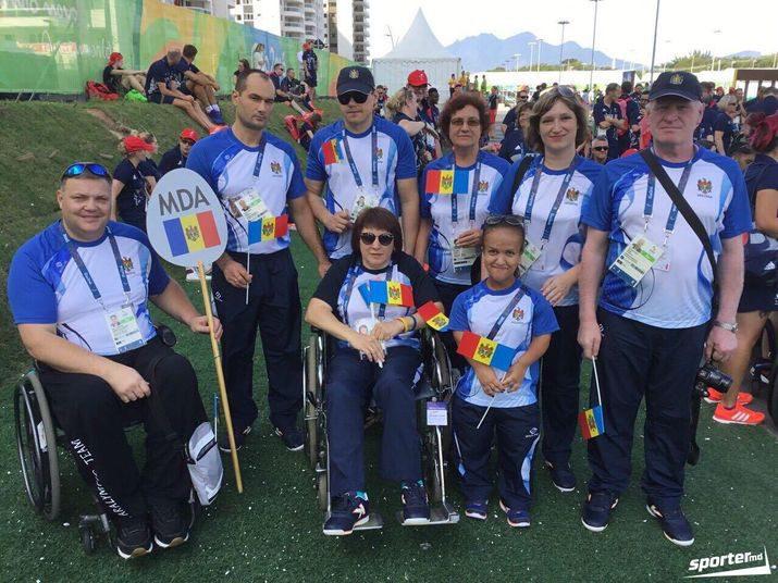 Паралимпийцы Молдовы возвращаются домой