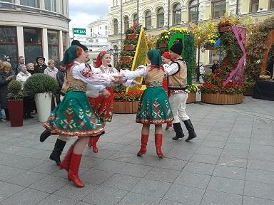 В Москве прошел первый фестиваль молдавской культуры «Изумрудный виноград»