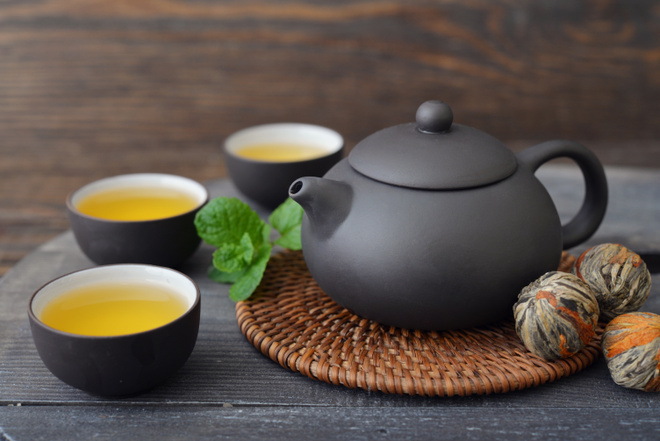Зелёный чай худит?