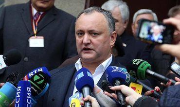 Президент Молдовы И.Додон встретится с представителями СМИ