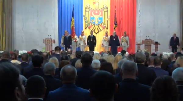 Игорь Додон официально вступил в должность президента РМ
