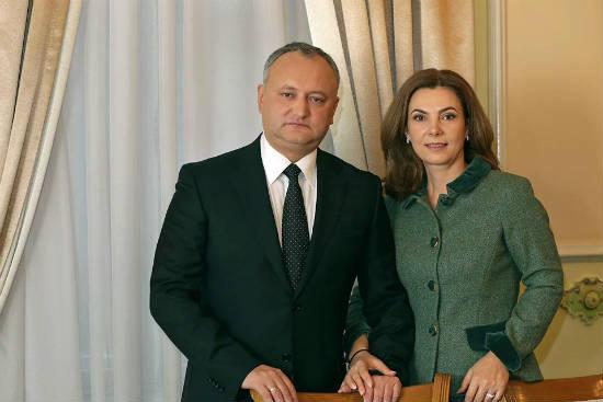 Президент Республики Молдова Игорь Додон поздравил с наступающим Новым годом