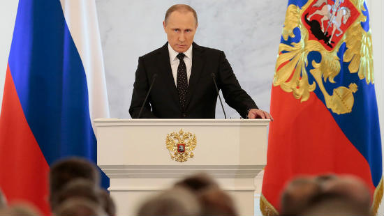 Владимир Путин проводит ежегодную большую пресс-конференцию