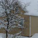 Снег на фазенде