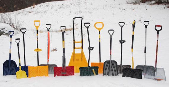 Выбери лопату!