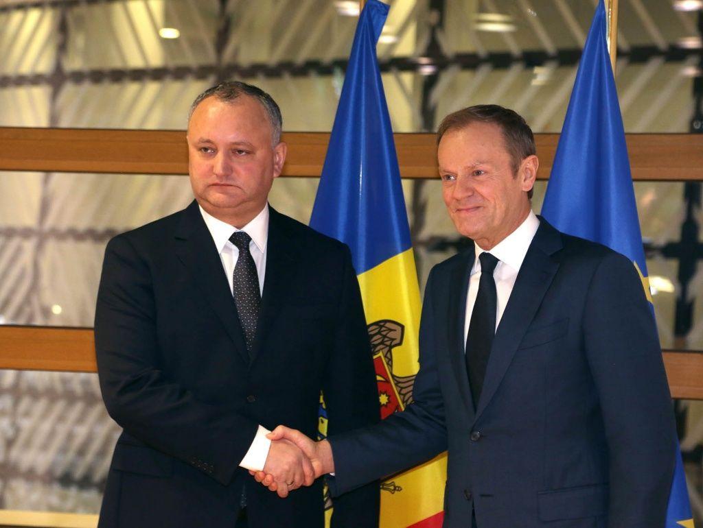Президент призвал ЕС  содействовать в расследовании кражи миллиарда