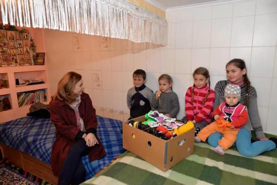 """Благотворительный фонд """"Din suflet"""" продолжает помогать людям"""