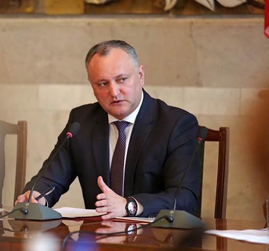 Игорь Додон подводит итоги первых ста дней своего президентства