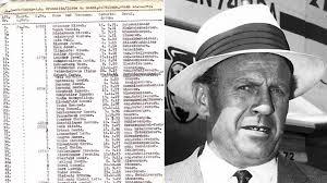 В США выставлена на аукцион одна из частей списка Шиндлера