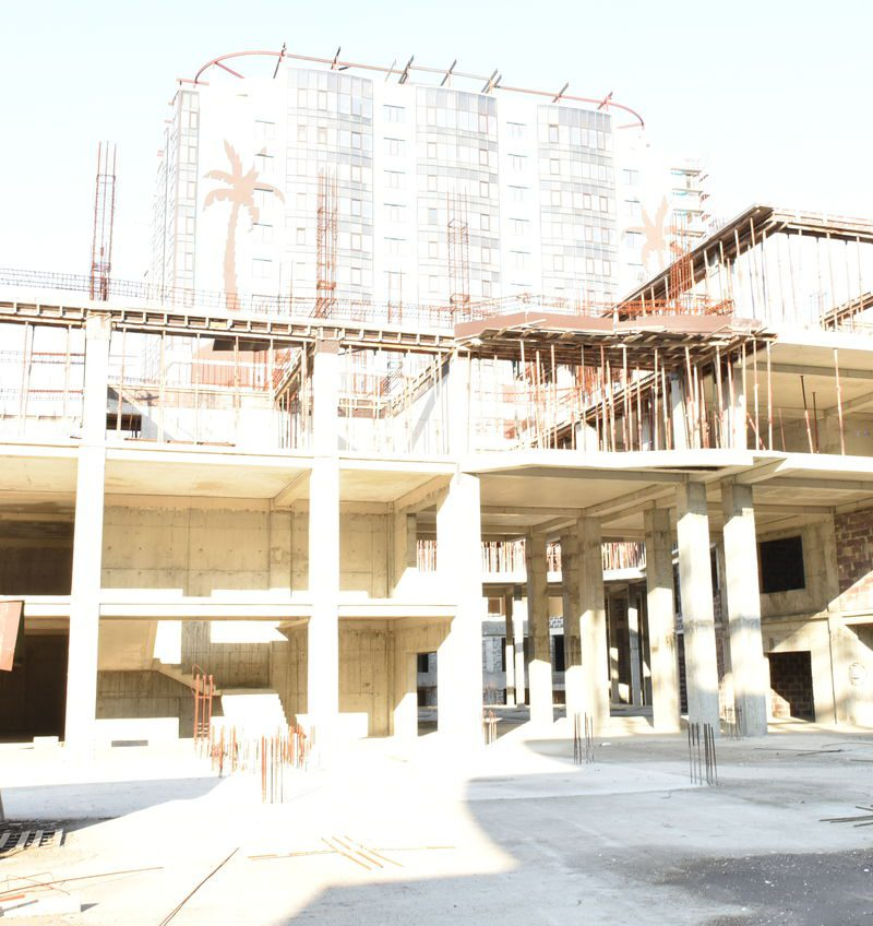 Новострой «дом под пальмами» — мошенничество с квартирами