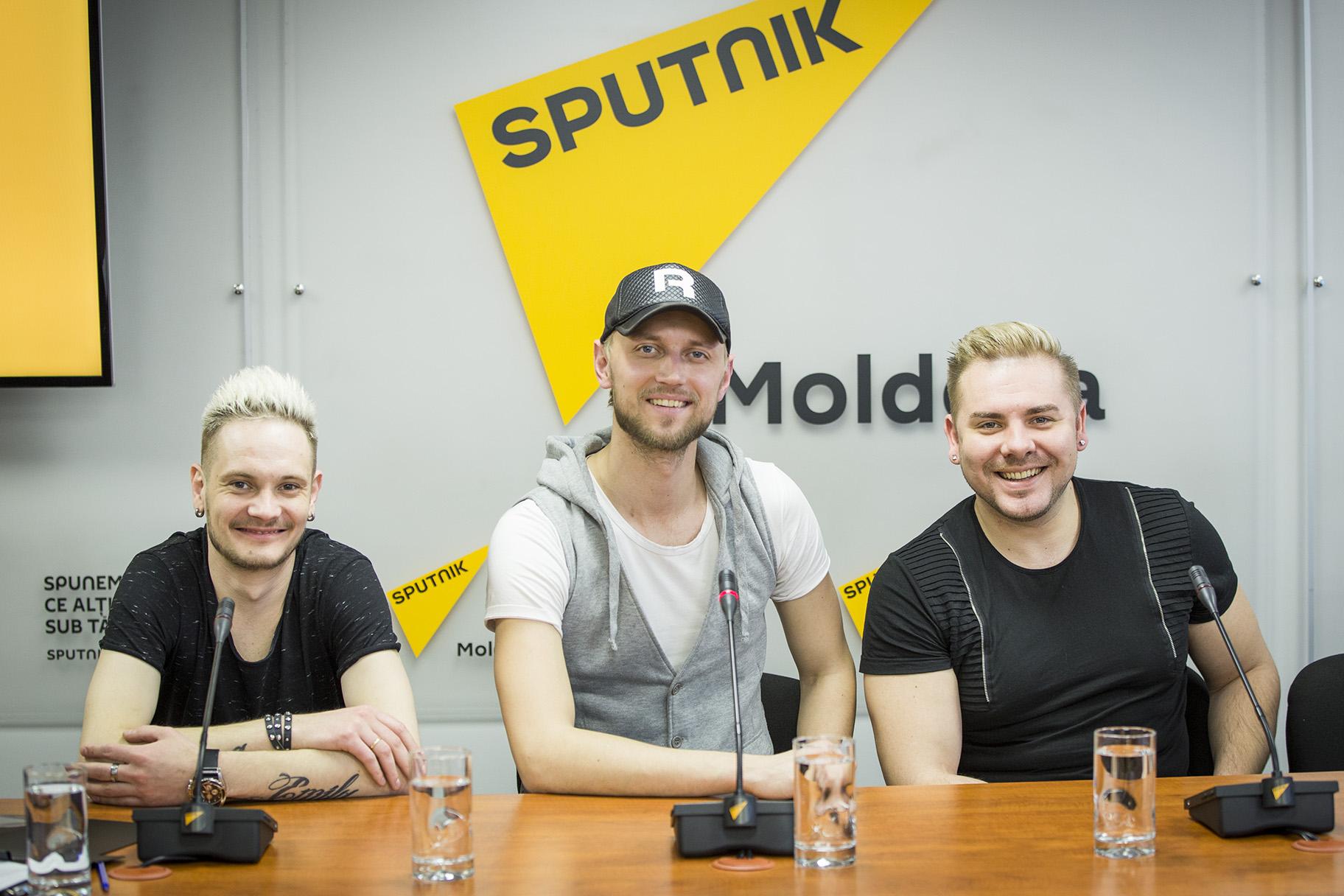 Sputnik иучастницы «Тысупер!» проводили музыкантов изМолдовы наЕвровидение
