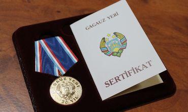 Материальное поощрение будут получать обладатели наград Гагаузии