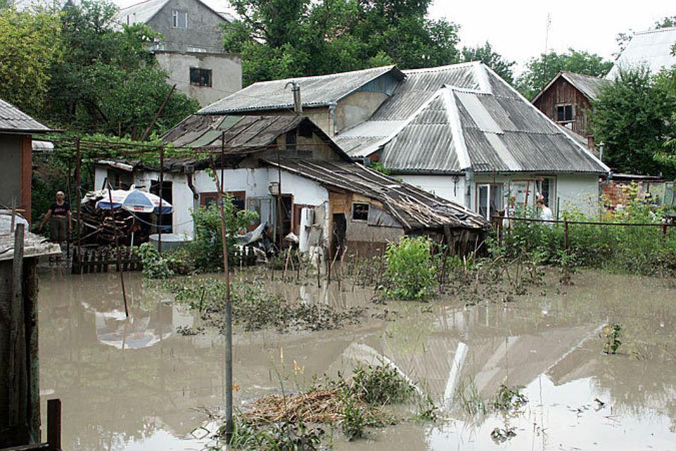 Наводнения в двух районах страны прогнозируют синоптики