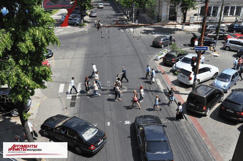 """""""Городской квест"""" по-кишинёвски – найди дорожную разметку в центре столицы"""