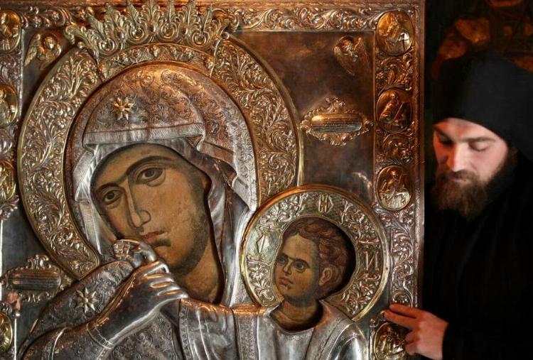 В Кишинёв будет доставлена чудотворная икона Пресвятой Богородицы Парамифия