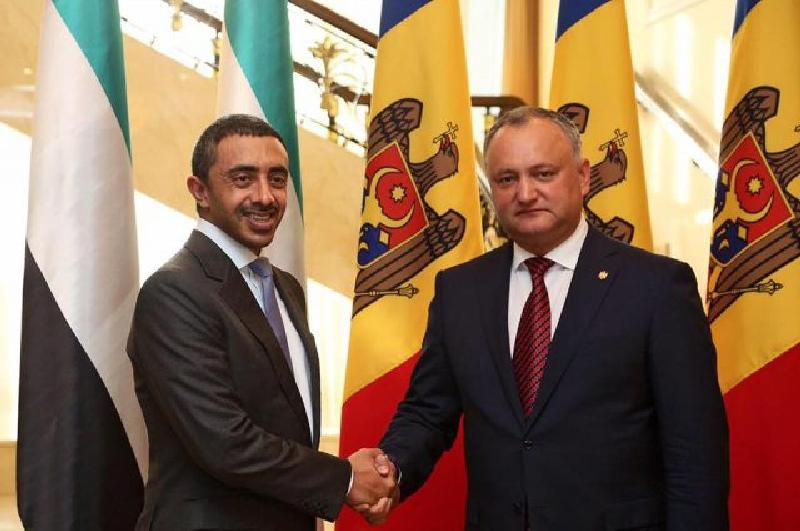Додон пригласил в Молдову чиновников и предпринимателей ОАЭ
