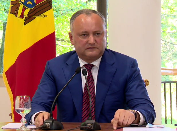 Додон: Если произойдет трагедия с самолетом Air Moldova, вина будет лежать на власти (ВИДЕО)