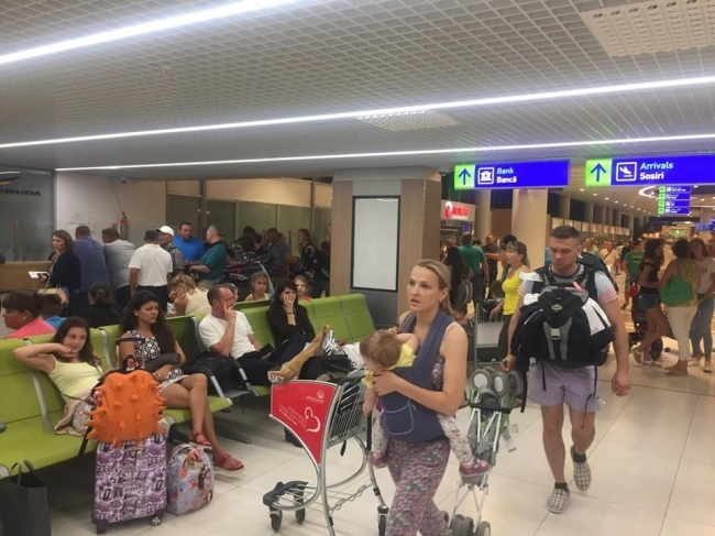 Ураган во Флоренции стал причиной задержки рейса Кишинев – Лиссабон