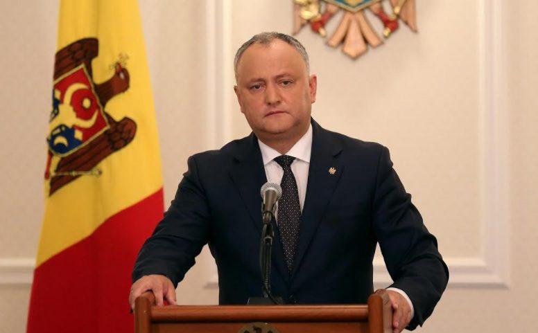 Додон: Выборы 2016 года вернули доверие к Молдове иностранных инвесторов