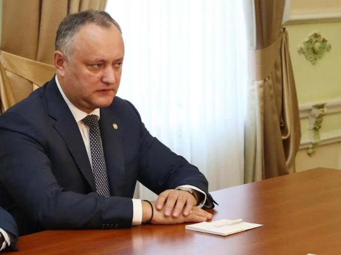 Игорь Додон проведёт диалог с прессой