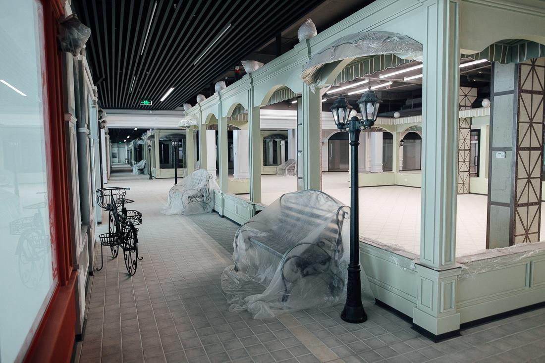 Новый торговый центр в Кишиневе намерен удивить клиентов уникальным дизайном (ФОТО)