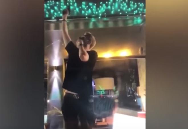 Стрельбу в воздух из пистолета в столичном клубе устроил кишиневец (ВИДЕО)
