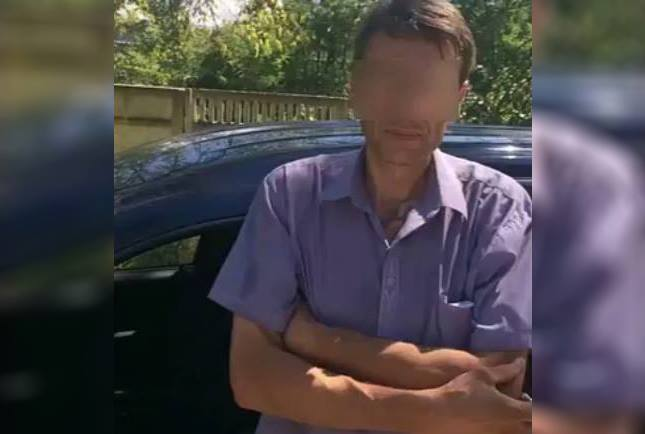 Столичный таксист принимал наркотики посреди дня в центре Кишинева (ВИДЕО)