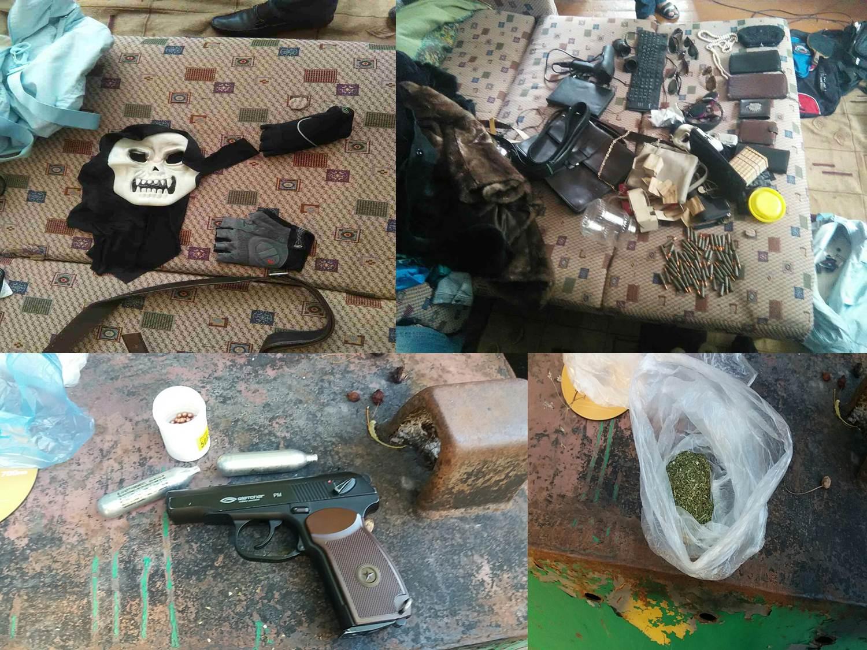 Гранатой F1 и пистолетом охраняла наркотики преступная группировка в Кишиневе (ВИДЕО)