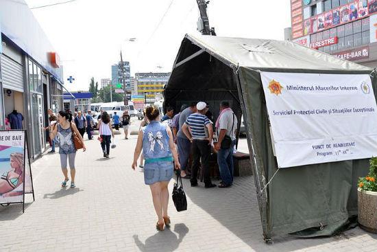 """На улицы Кишинева возвращаются палатки """"антижара"""": узнай их адреса"""