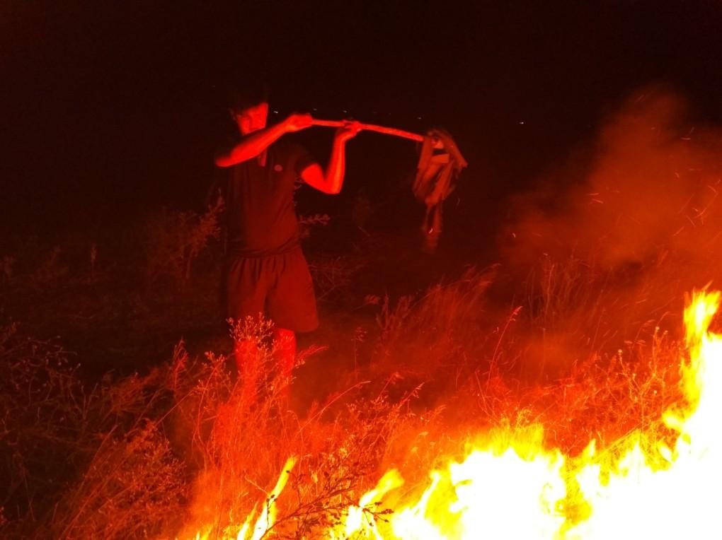 К взрыву газа едва не привело возгорание растительности в Штефан-Водэ
