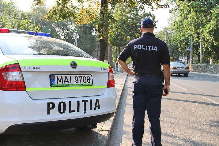 За последние 48 часов в Кишиневе произошло 58 аварий