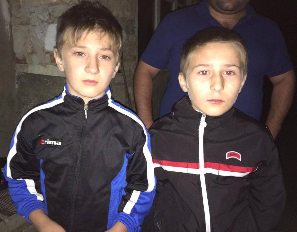 Пропавшие в Комрате двое мальчиков нашлись целыми и невредимыми