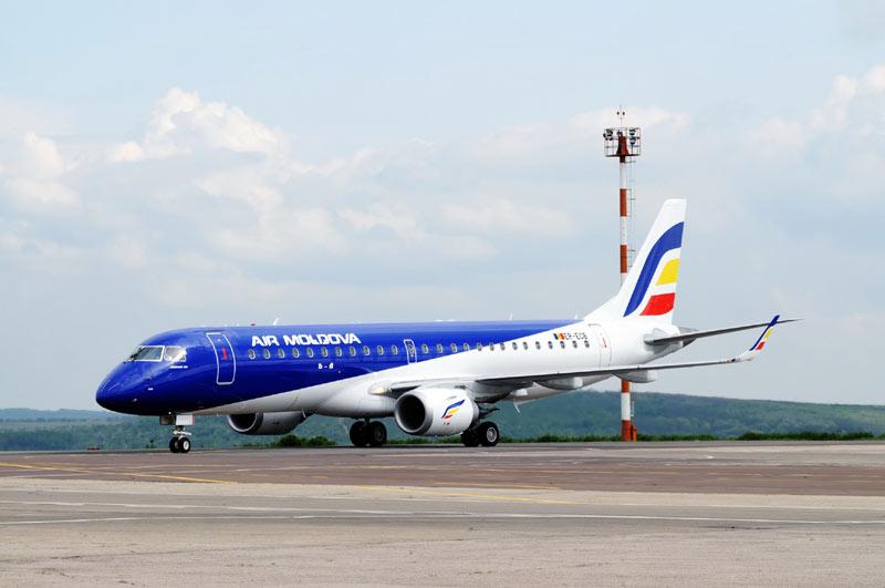 Самолёт Air Moldova совершил аварийную посадку вскоре после взлёта (ФОТО)