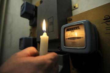 В среду в пяти столичных секторах ожидаются отключения света