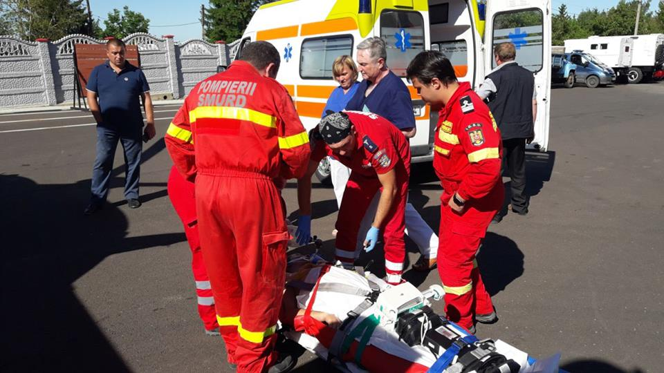 Парня с многочисленными травмами доставили на вертолете в Кишинев (ВИДЕО, ФОТО)