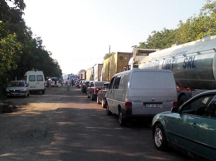 На некоторых таможенных пунктах Молдовы наблюдаются очереди