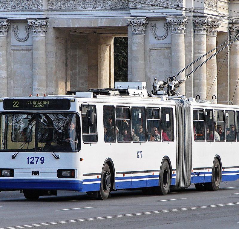 С 1 сентября в Кишиневе будет курсировать больше троллейбусов