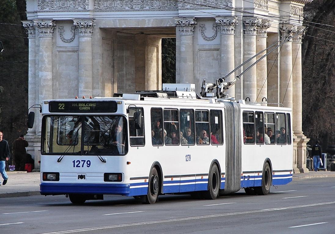 Маршрут столичного троллейбуса №22 изменили