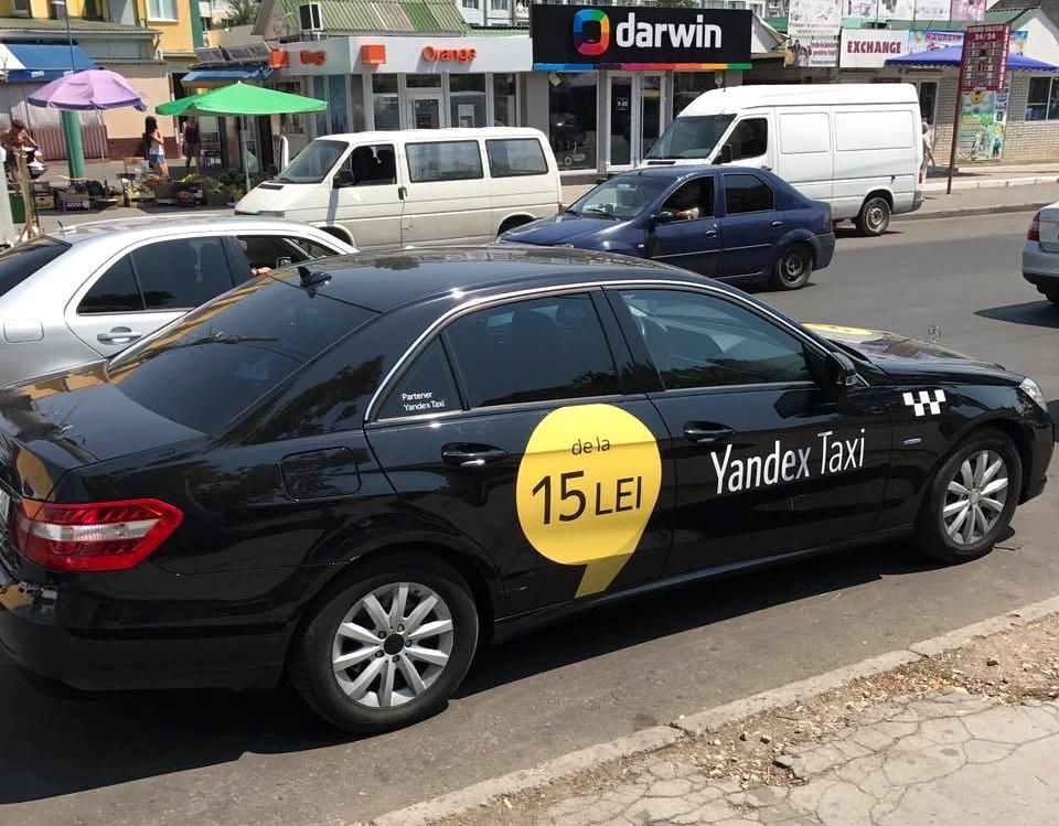 Баснословные цены появившихся в Кишиневе «Яндекс.Такси» возмутили горожан (ФОТО)