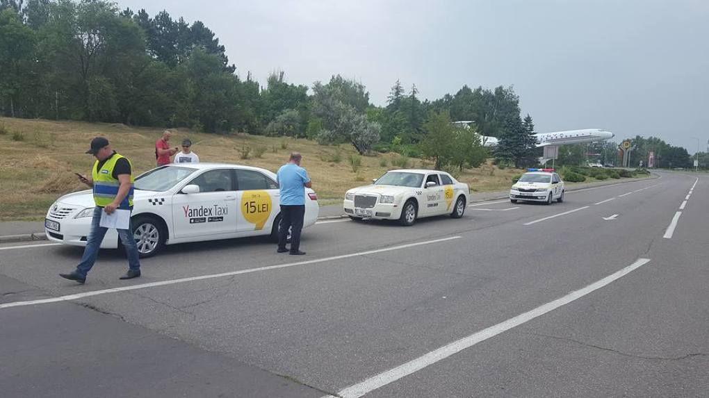 В работе «Яндекс.Такси» в Кишиневе выявлен ряд нарушений (ФОТО)