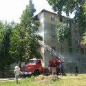 Сильный пожар произошел в городке Аэропорта в Кишиневе (ФОТО, ВИДЕО)