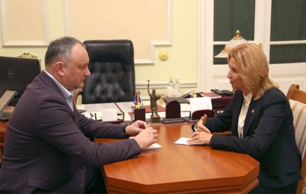 LIVE! Игорь Додон и Ирина Влах выступают с совместным заявлением для прессы (ВИДЕО)