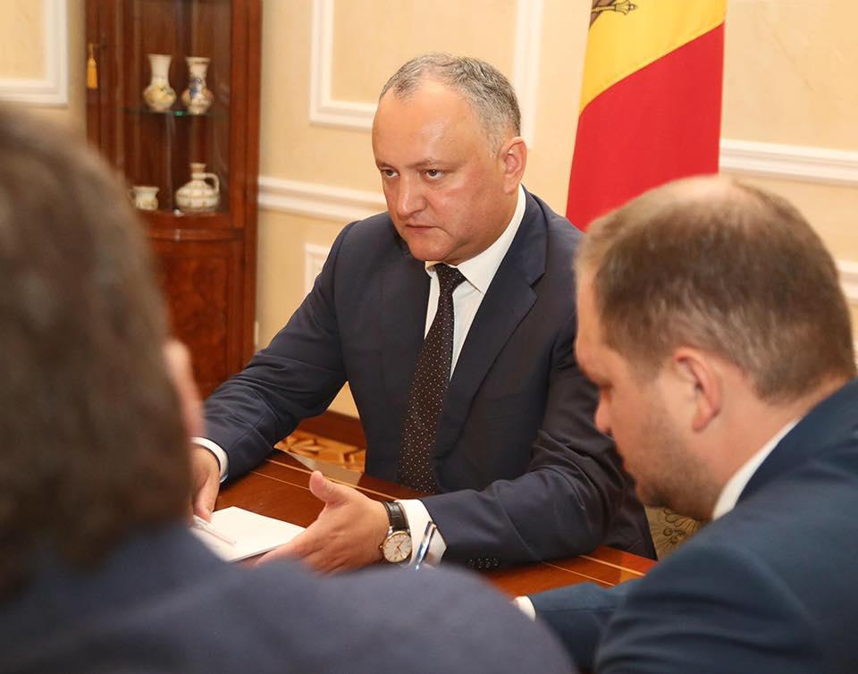 Додон: Молдова может стать положительным примером договоренности Востока и Запада