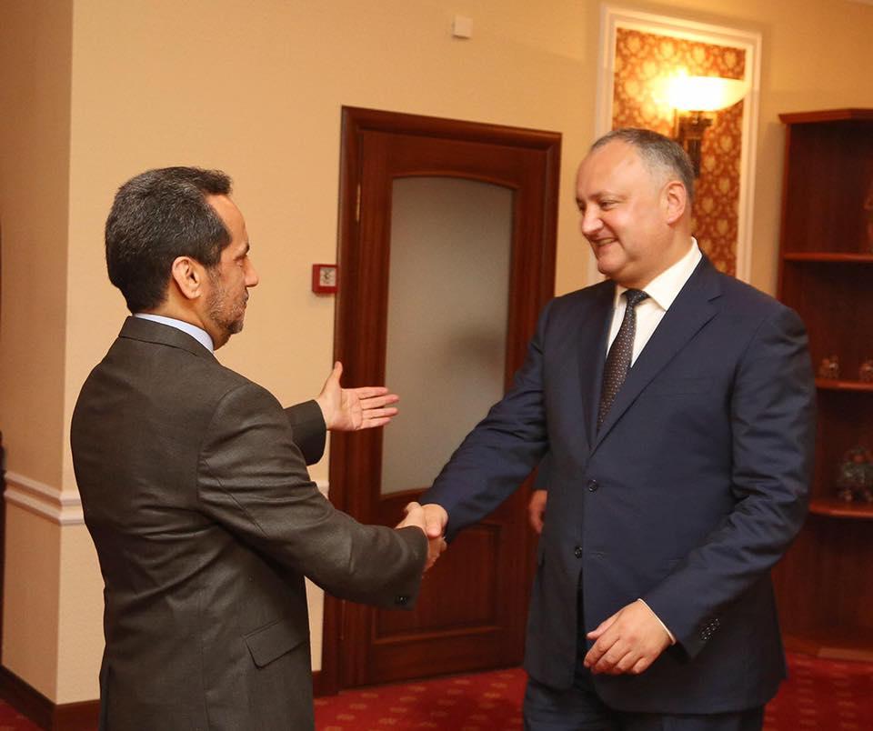Игорь Додон приглашен на инаугурацию президента Ирана