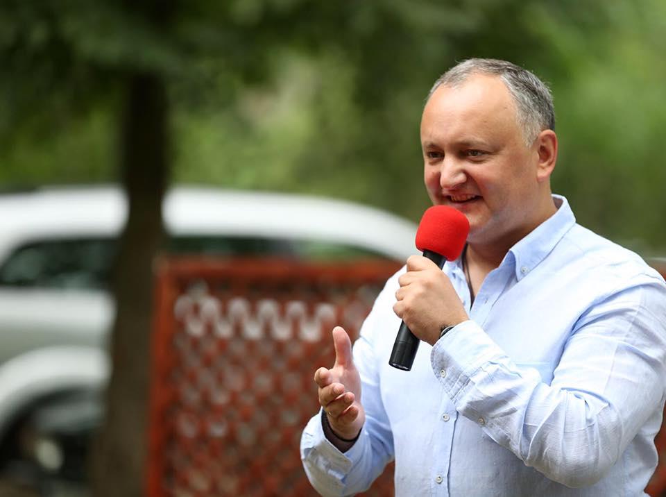 Игорь Додон принял участие в открытии молодежного форума
