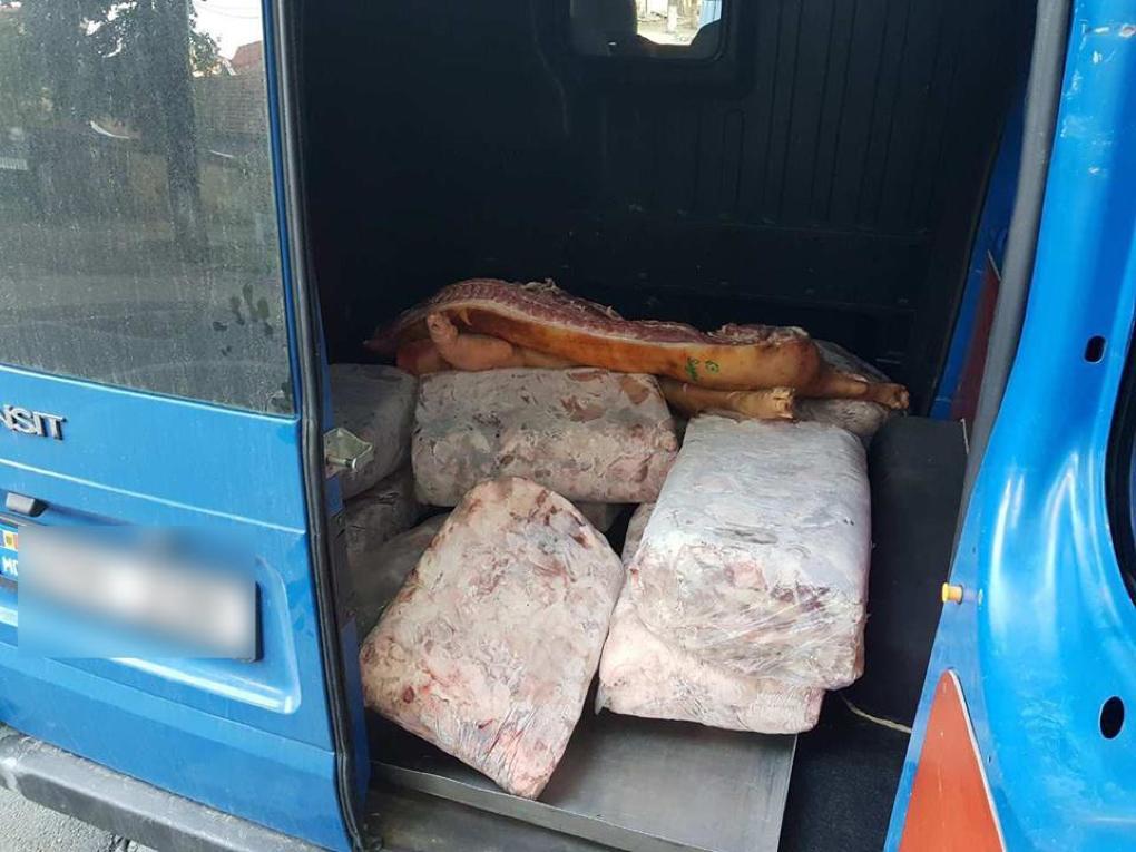 Более 300 кг свинины неизвестного происхождения обнаружили в Кишиневе