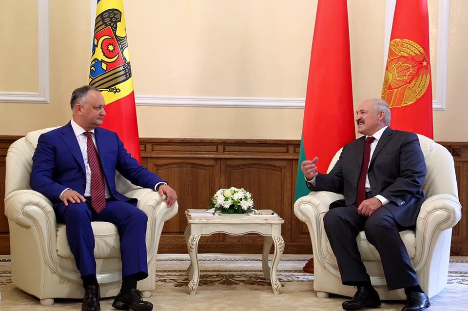 Додон: В отношениях Молдовы и Беларуси открыта новая страница  (ВИДЕО)