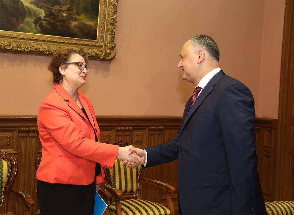 Президент положительно оценил результаты сотрудничества Молдовы с ЮНИСЕФ