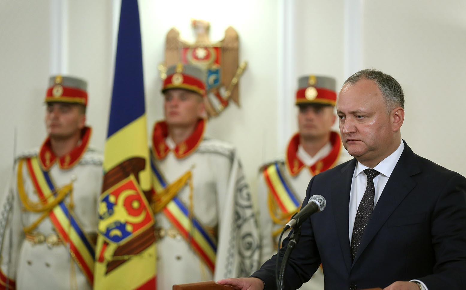 Игорь Додон проведет брифинг для прессы