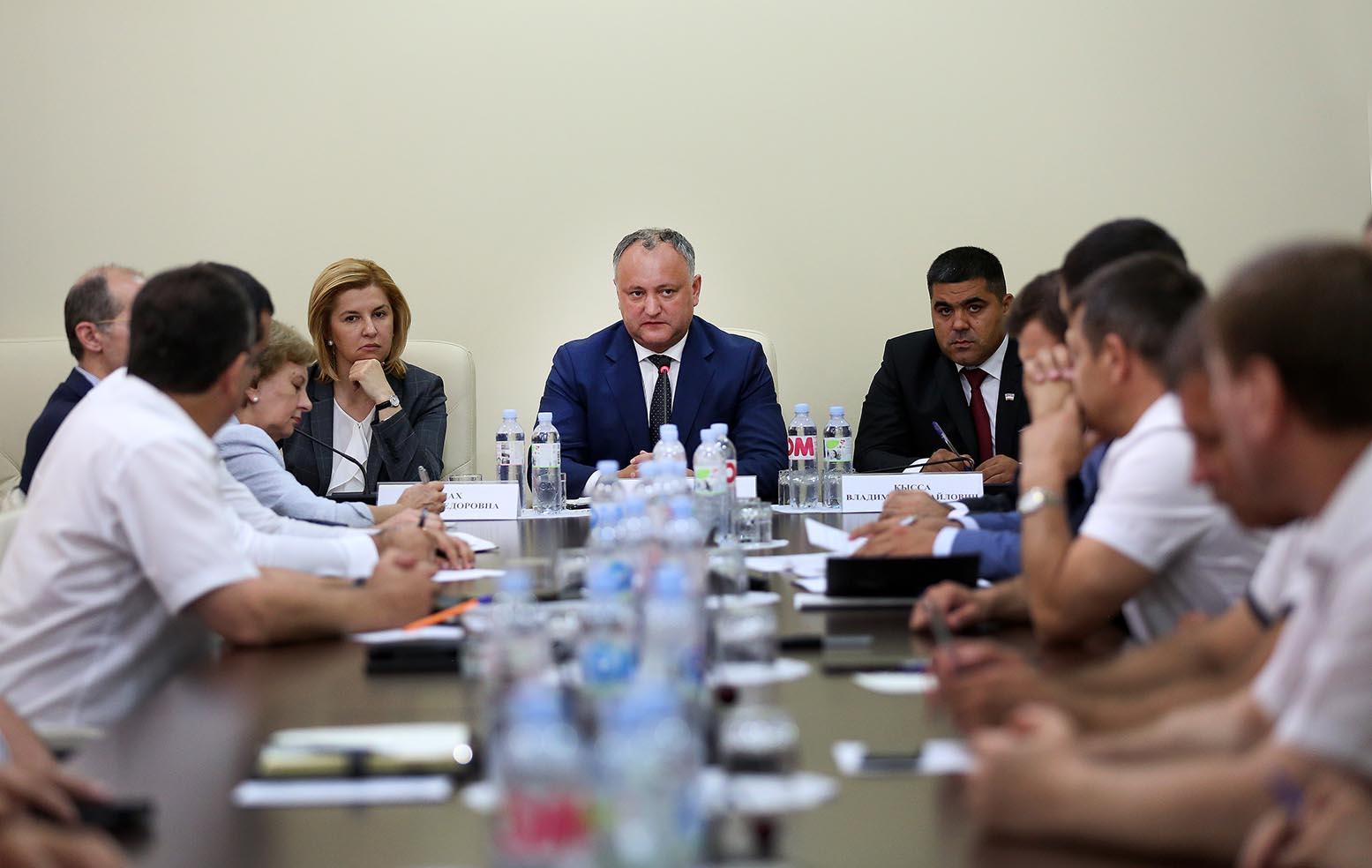 Игорь Додон и руководство Гагаузии договорились по трем принципиальным вопросам